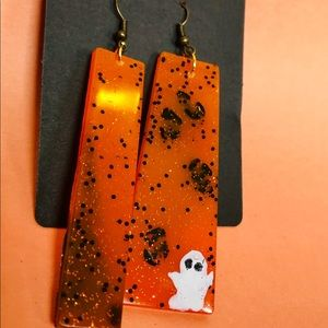 Ghost dangle earrings